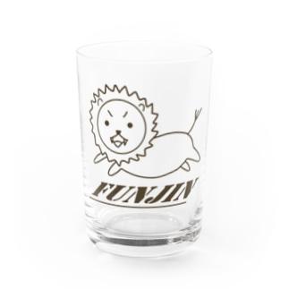 sakura-filmsの獅子奮迅(イラスト)グッズ Water Glass