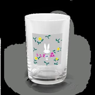 おじじなるらぶのうさぎ🐰野{の}森🍀 Water Glass
