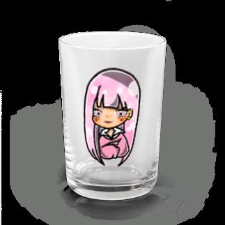 Shiina☻のピンクちゃん Water Glass