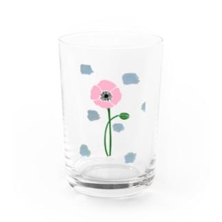 アネモネピンク Water Glass