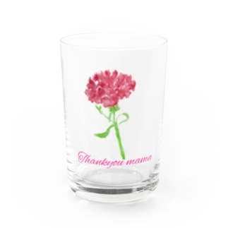 Thank you mama Water Glass