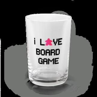 LucyDiamondのi LOVE BOARDGAME(ドット) Water Glass