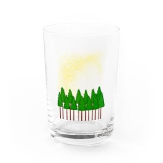 花粉症です。 Water Glass