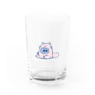 歯がぬけそうなねこ Water Glass