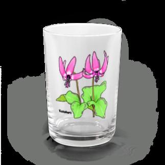 raraのカタクリの花 Water Glass