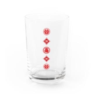 招財進寶 桑拿浴 Water Glass