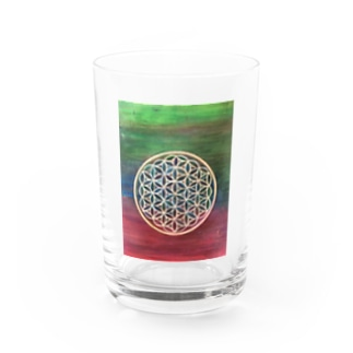 flower of life Water Glass