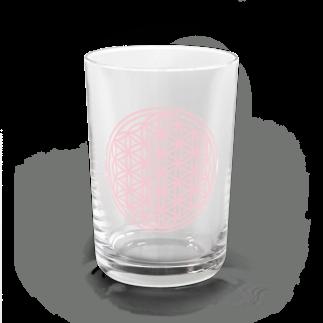 agehadouのフラワーオブライフ(sakura) Water Glass