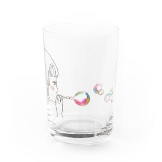 しゃぼんだま Water Glass