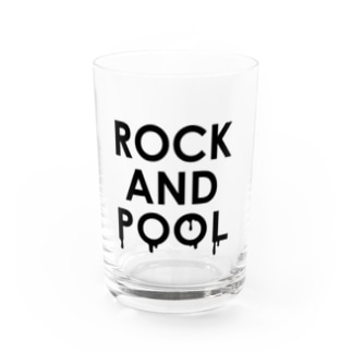 ROCK AND POOL Water Glass