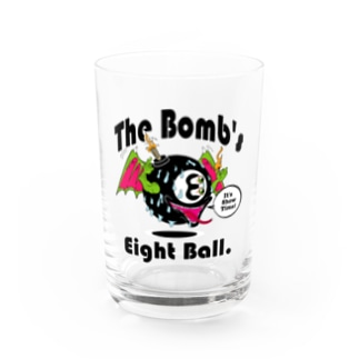 The Bomb's Eight Ball Water Glass