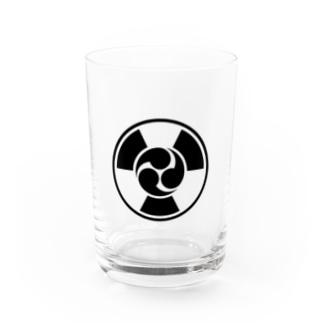 放射線に三つ巴 B Water Glass
