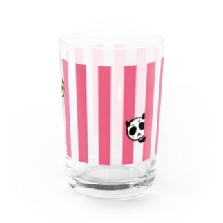 パンちら(ピンク) Water Glass
