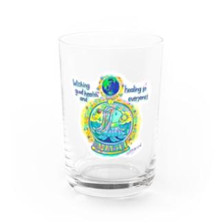 中島みなみのAMABIE アマビエ Water Glass