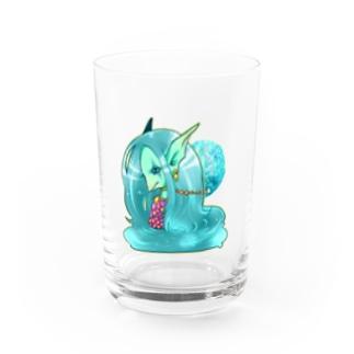 アマビエ様 Water Glass