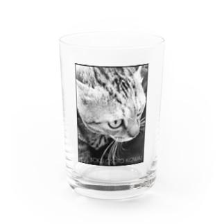 BOKU OSOTO KOWAI(黒枠) Water Glass