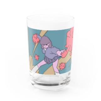 クソコロナ Water Glass