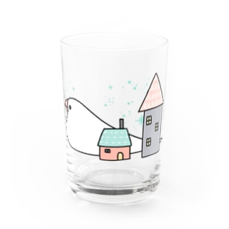 Stay home 文鳥 Water Glass