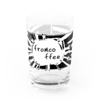 fromcoffeeグラス3 Water Glass