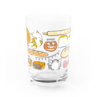コーギーパン(横長) Water Glass
