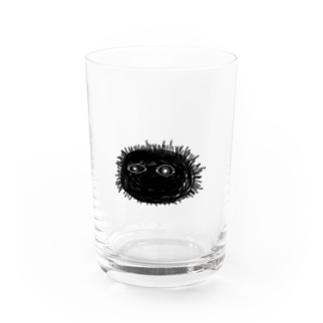 うにですよろしくおねがいします Water Glass