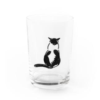 ハトちゃんこっち向いて Water Glass