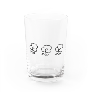 mt.のお花3 Water Glass