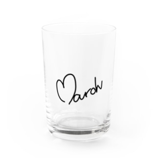 March Water Glass