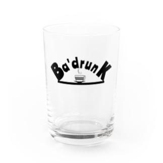 Ba'drunk newブランドロゴシリーズ Water Glass