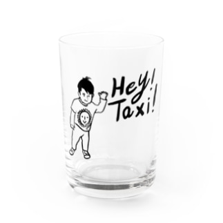 Hey!Taxi! Water Glass