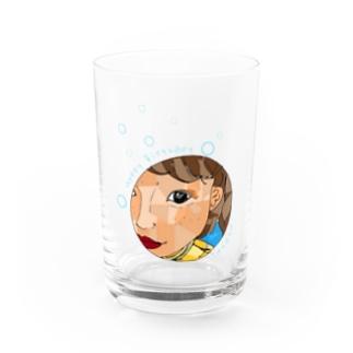タナカお誕生日おめでとう Water Glass