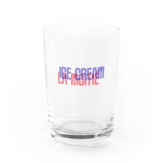 アイスとはんぶんこ Water Glass