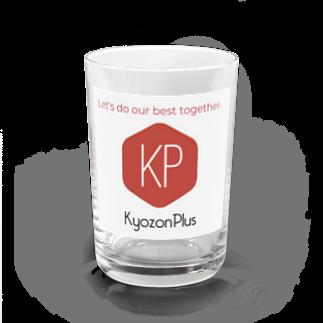 kyozonplusのがんばれにっぽん KyozonPlus Water Glass