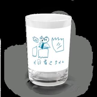チマホマ社のやのねこちゃん Water Glass