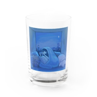 game night Water Glass