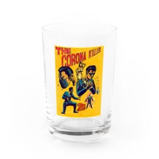 The Corona Killer Water Glass