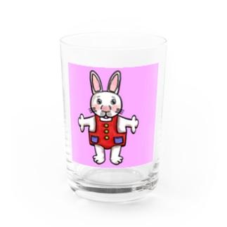 うさぎくん Water Glass