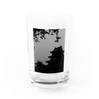 松本城 Water Glass
