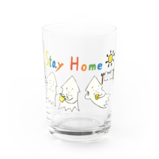 STAY HOME モンゴイカ Water Glass