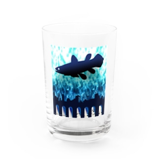 claudite consciousness(シーラカンス) Water Glass