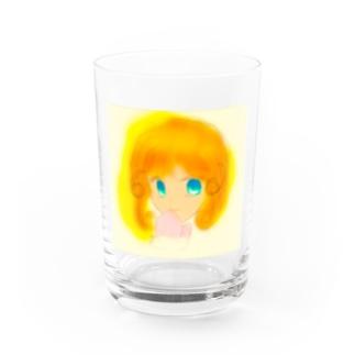 WinterGirl Water Glass