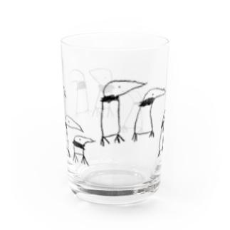 アゴヒモペンギンの行列 Water Glass