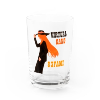 83 VIRTUALWESTERN グッズ Water Glass