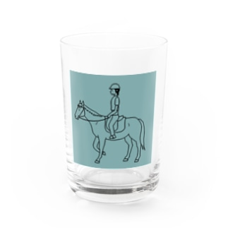 Abii Horseの馬のいる日常 Water Glass