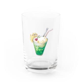 クリームソーダ(いやしんぼ編) Water Glass