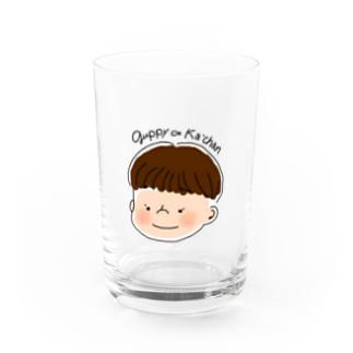 ぐっぴーかあちゃん Water Glass