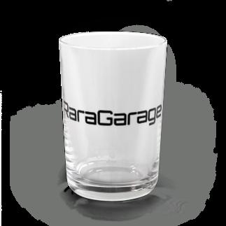 RaraGarageのRaraGarageロゴシリーズ(黒文字) Water Glass