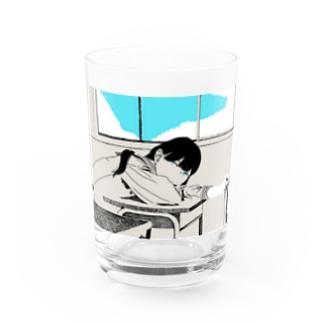 横山商店の初夏 Water Glass