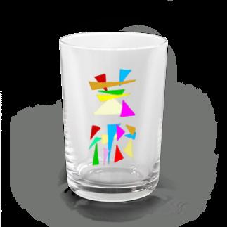 IYATEのオリジナルグッズ公式販売所の芸術 Water Glass