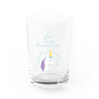ティータイムユニコーン Water Glass